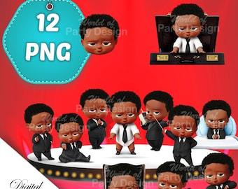 Black Boss Baby Etsy