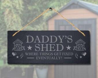 Leaving Work Job Keepsake Gift Personalised Rustic Hanging Slate Plaque Sign