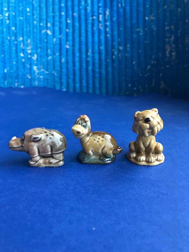Wade Whimsies Flintstones vintage miniatures figurines collectable rare 1960s