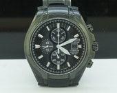 Citizen Eco Drive Titanium Chronograph Sapphire WR 100m Mens Watch B612-S078342 22054B