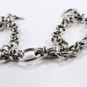 Women/'s Sterling Silver 925 Bracelet  #80094