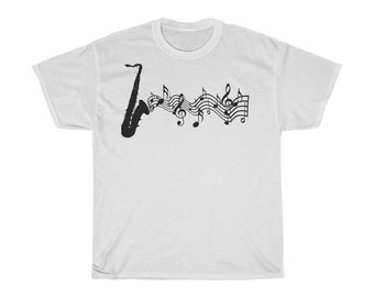 Let/'s talk about sax Jazz Saxophone Music T Shirts-525