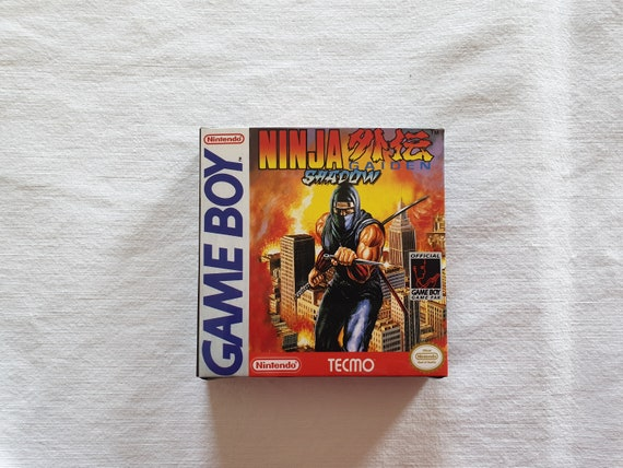 Ninja Gaiden Shadow Gameboy Gb Box With Insert Top Quality Etsy
