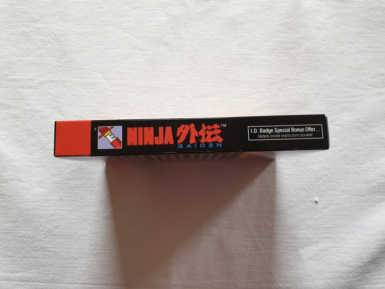 Top Quality Box only Ninja Gaiden NES Entertainment System