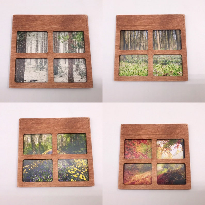 Wooden suitcase for Travel Dollhouse