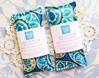 Aromatherapy Eye Pillow Mask / Eye Mask Sleep / Meditation Eye Pillow / Yoga Pillow Mask / Yoga Lavender Eye Pillow / Lavender Essential Oil