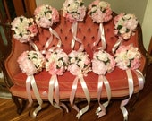Wedding Aisle clip on or tie on Flower arrangements