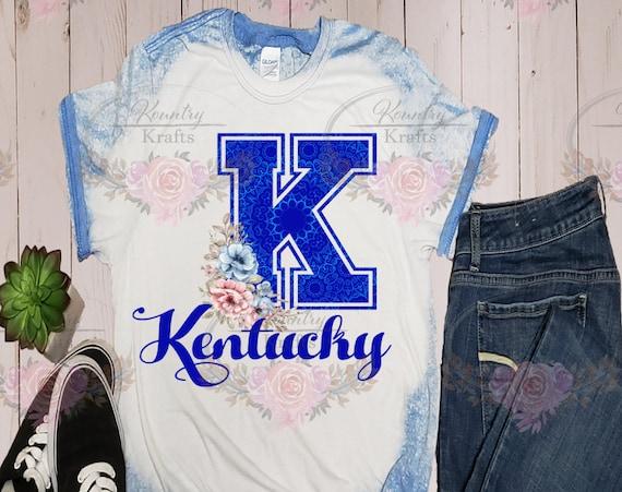 Kentucky/Bleached Tee