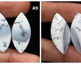Black White Pendant Stone Best Price Jewellery Making Gemstone Size 51x34x7 MM AG-9947 Dendrites 100/% Natural Dendritic Opal Cabochon