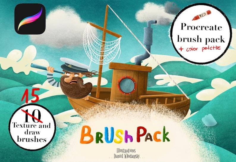Procreate brush pack image 1