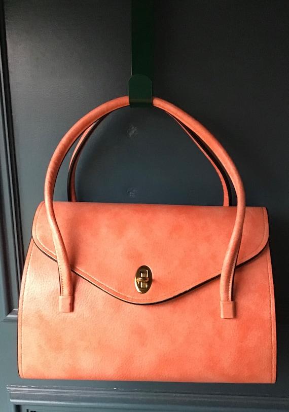 JULIUS RESNICK 1950's vintage Top handle Handbag S