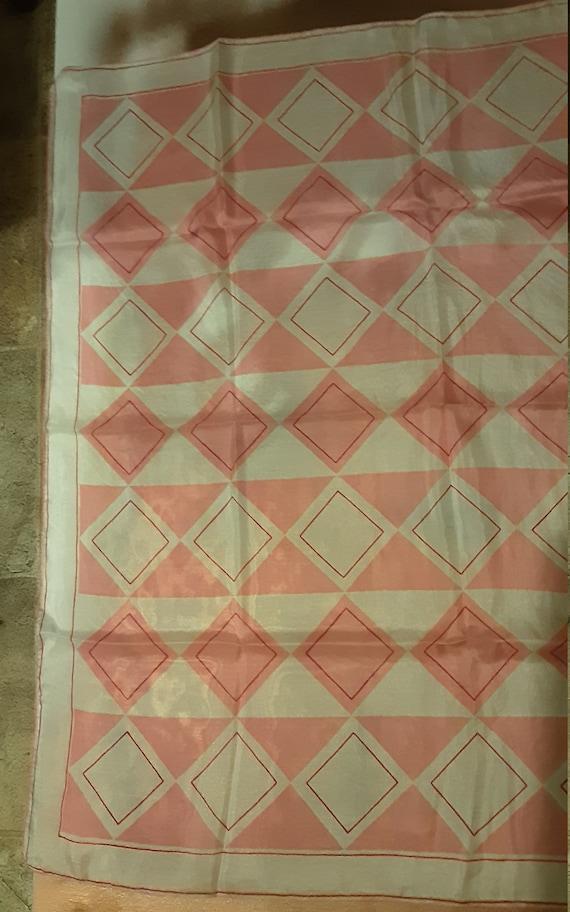 1940's geometric silk Vera Neumann scarf - image 3