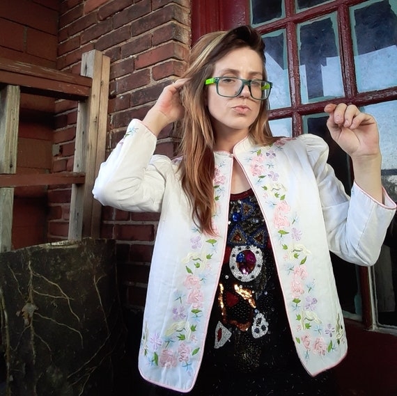 1980's quilted Natori for Nieman Marcus jacket