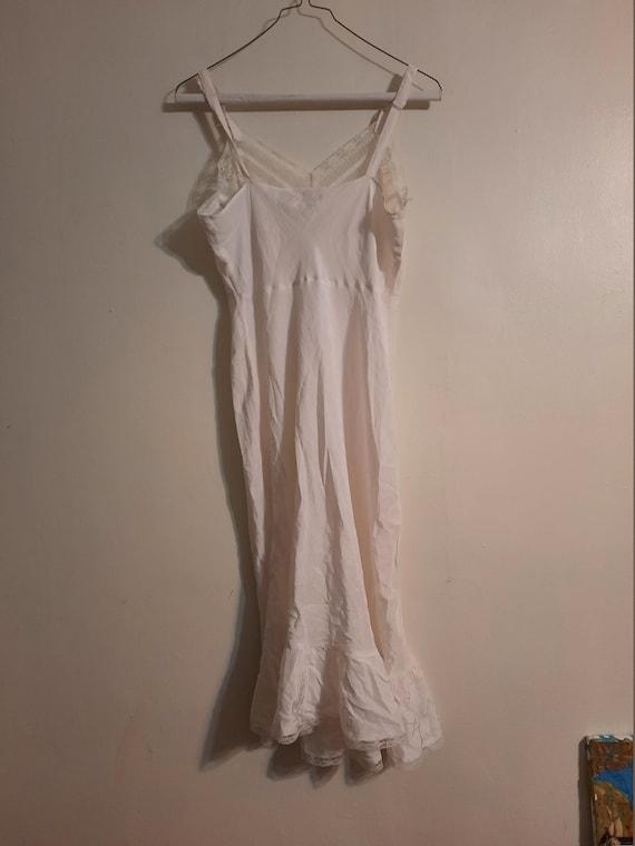 Rare 1940's Miss Broadway slip ~ negligee - image 10