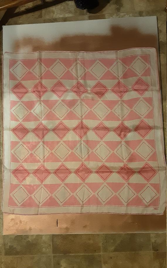 1940's geometric silk Vera Neumann scarf - image 7