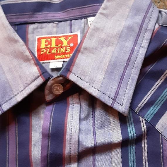1970's Ely Plains Western shirt - image 2
