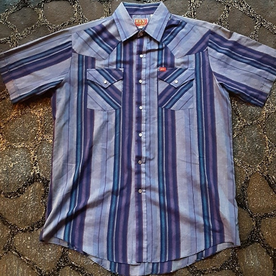 1970's Ely Plains Western shirt