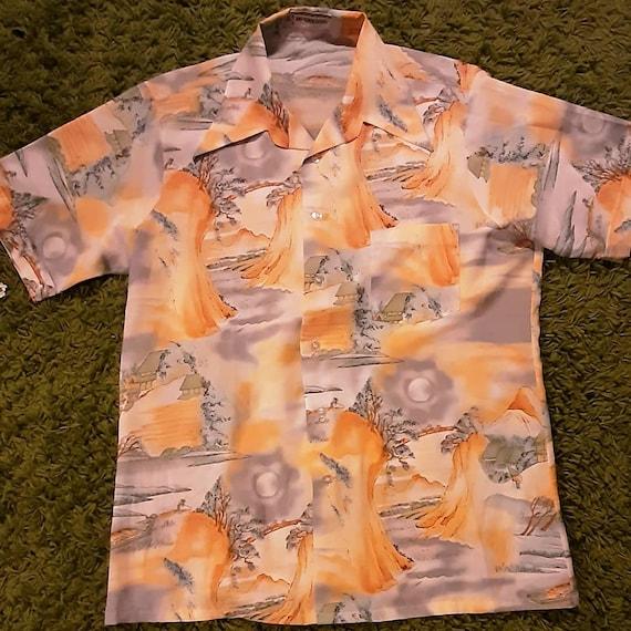 Men's 1960's Hawaiian McGregor shirt
