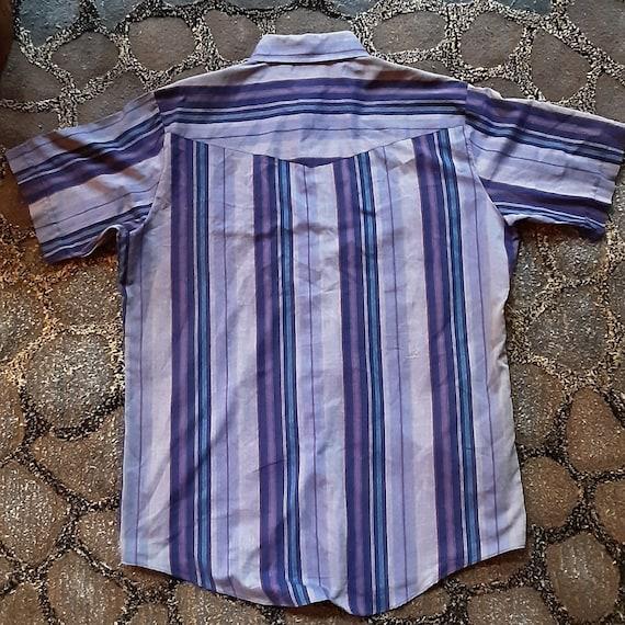 1970's Ely Plains Western shirt - image 4