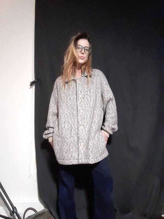 Oversized 1990's fleece jacket - image 6