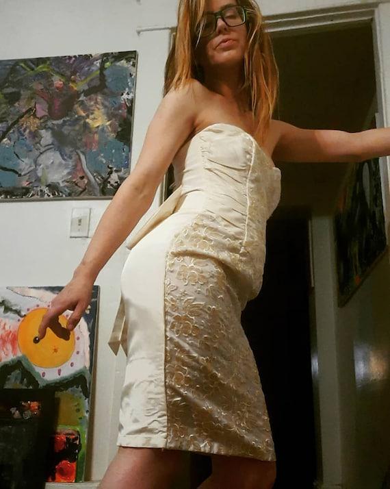 Glam 1980's Gunne Sax evening gown, wedding ~ prom