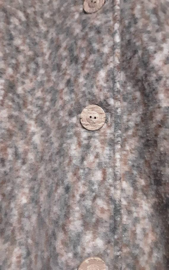 Oversized 1990's fleece jacket - image 8