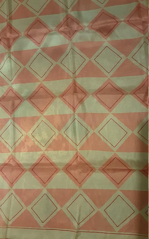 1940's geometric silk Vera Neumann scarf - image 4