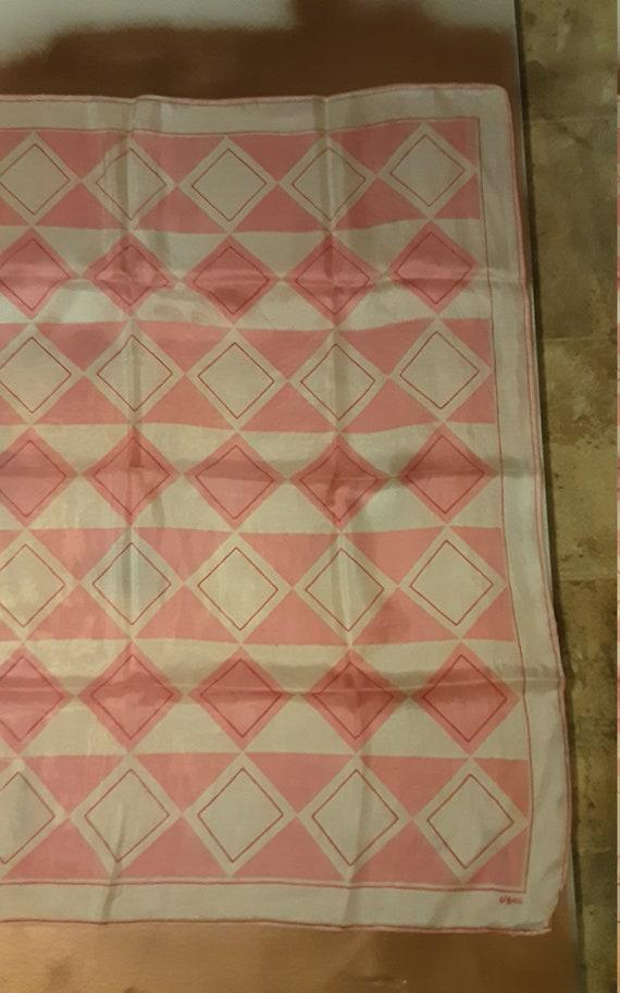 1940's geometric silk Vera Neumann scarf - image 5