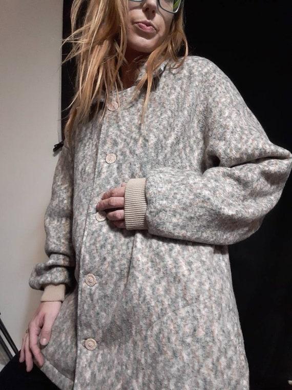 Oversized 1990's fleece jacket - image 4