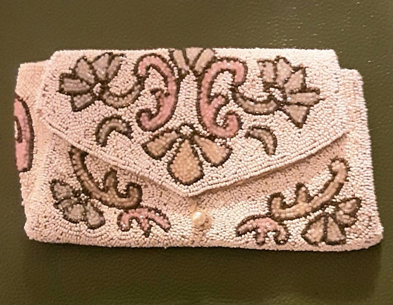 1930's beaded Art Deco clutch