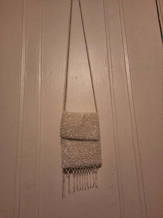 1980's does 20's beaded Art Deco evening bag by Pr