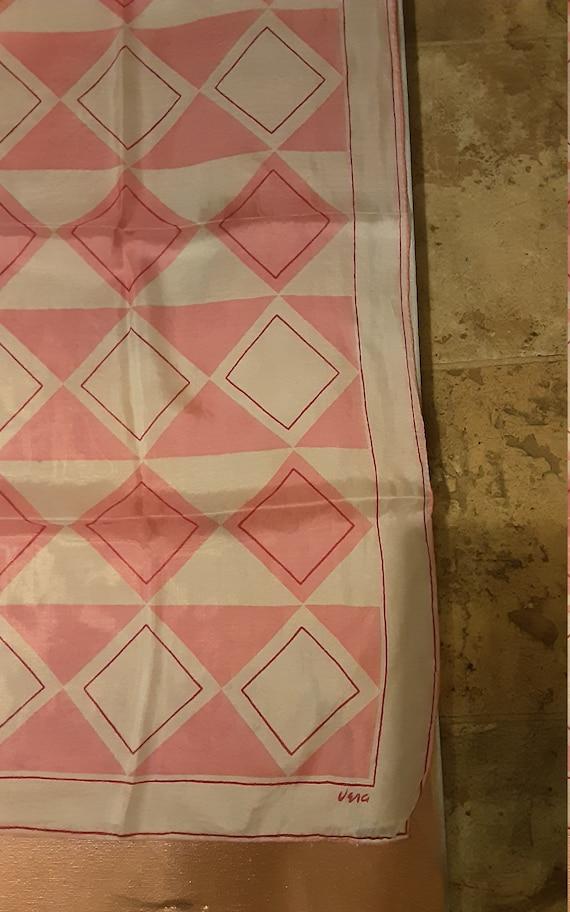 1940's geometric silk Vera Neumann scarf - image 6
