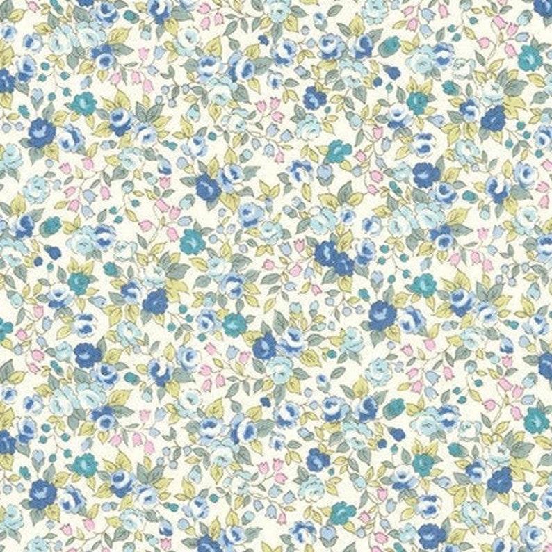 Sevenberry Bouquet ****BLUE****   NEW!! Robert Kaufman Fabric by the YARD