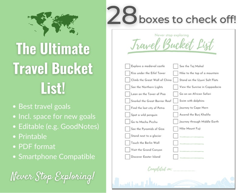 Ultimate Travel Bucket List with Great Destinations  Room to image 0