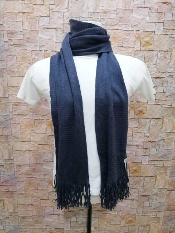 vintage Calvin Klein plain design wool scarf muffl