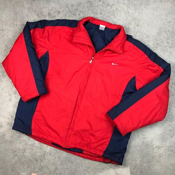 Vintage Nike Padded Swoosh Jacket