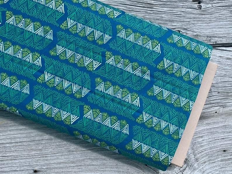 MOUNTAIN STREAMS Free Spirit Fabrics One Mile Radiant by Anna Maria/'s Conservatory Cotton Fabric Quilting Crafts Sewing