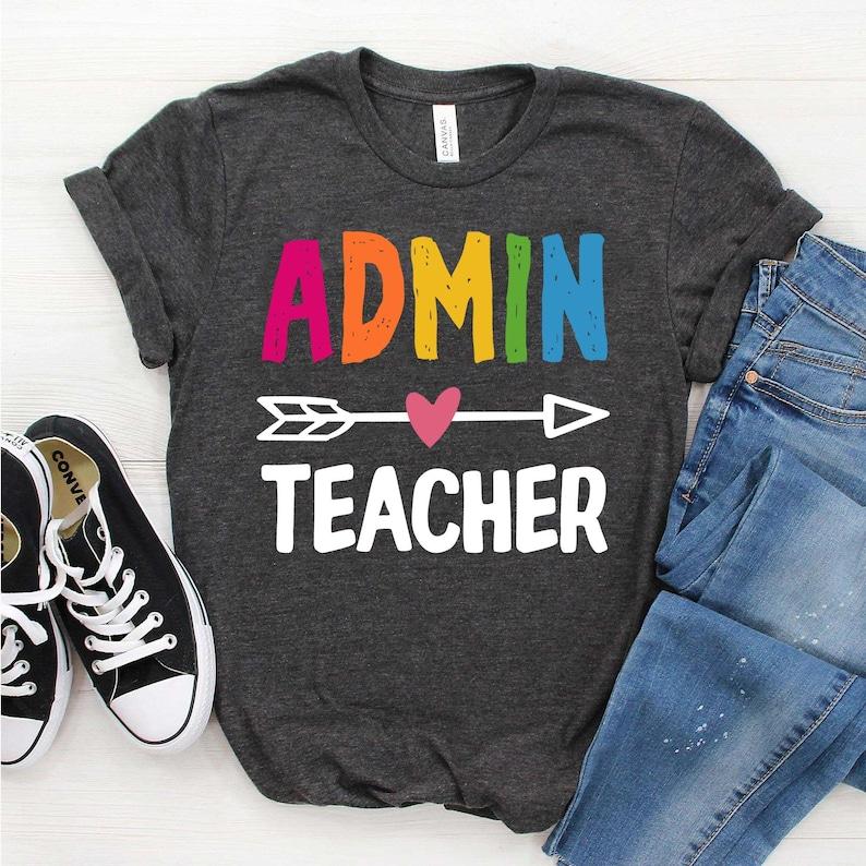 School Staff Shirts Squad Goals Gift for admin Admin Teacher Shirt Office staff gifts Teacher Shirt Squad Shirt Admin Crew Shirt