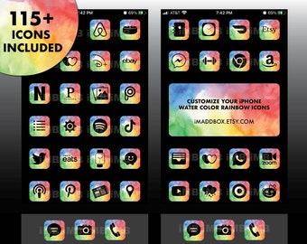 Ios 14 App Icons Iphone Home Screen Aesthetics By Imaddbox