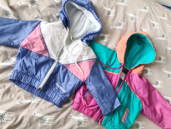 Colour block spring jackets