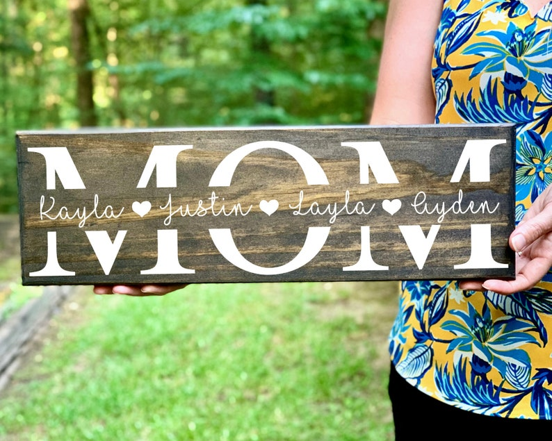 Personalized Mom Gift Personalized Gift for Mom Custom Gift image 0