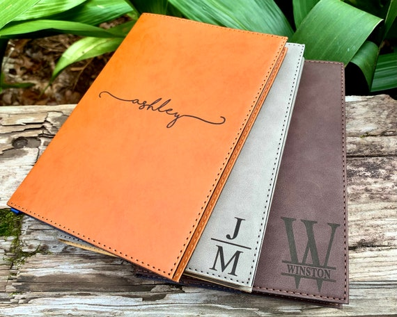 Personalized Leather Journal Personalized Notebook