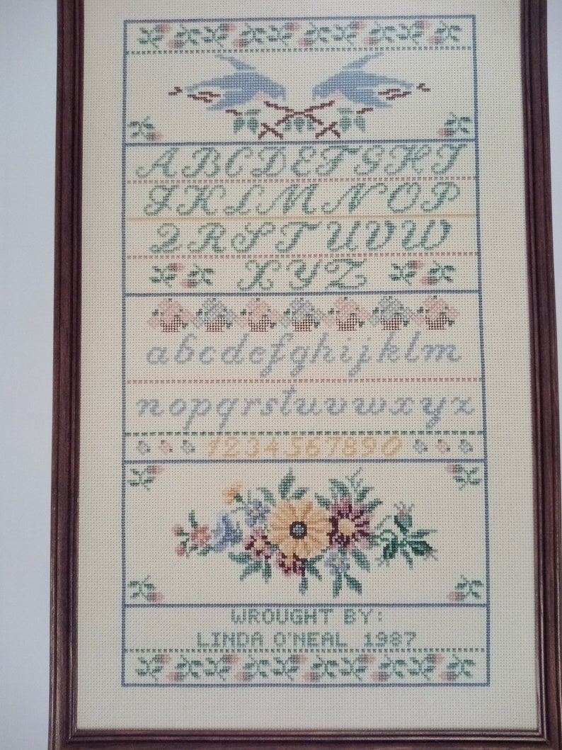 Cross stitch designs by Gloria and Pat !!! A Sampler of Love