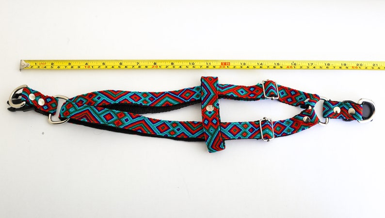 Handwoven and Adjustable No Pull Chest Harness Made out of Nylon with Cute and Trendy Designs for Boy Dogs Girl Dogs Dog Harness