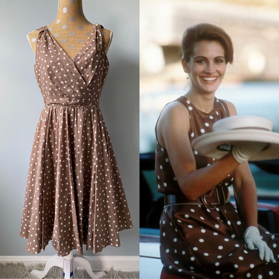 Pretty Woman Inspired Dress, 1950's / 1960's Style