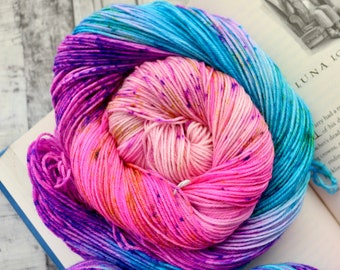 Hand Dyed Yarn - Quibbler Variegated