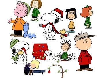 Peanuts Christmas Etsy