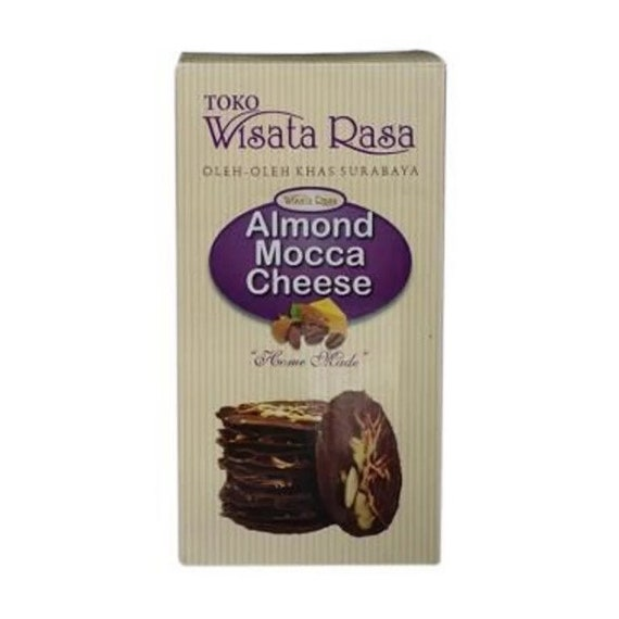 Almond Crispy Cheese Culinary Tourism Snack Souvenirs Of Indonesia