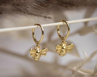 Damen Ohrhänger Ohrringe Biene Insketen Ohrstecker Ohrschmuck Niedlich Geschenk