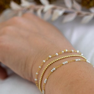delicate 14kt rose gold diamondcut chain adjusts to fit and show off its large Edison pearl Rosy Glow Pearl Bolo Bracelet Gorgeous!